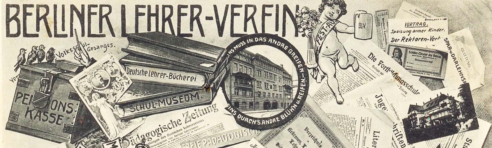 Postkarte Berliner Lehrerverein