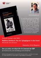 Szenische Lesung über Lenins Reise nach Russland 1917
