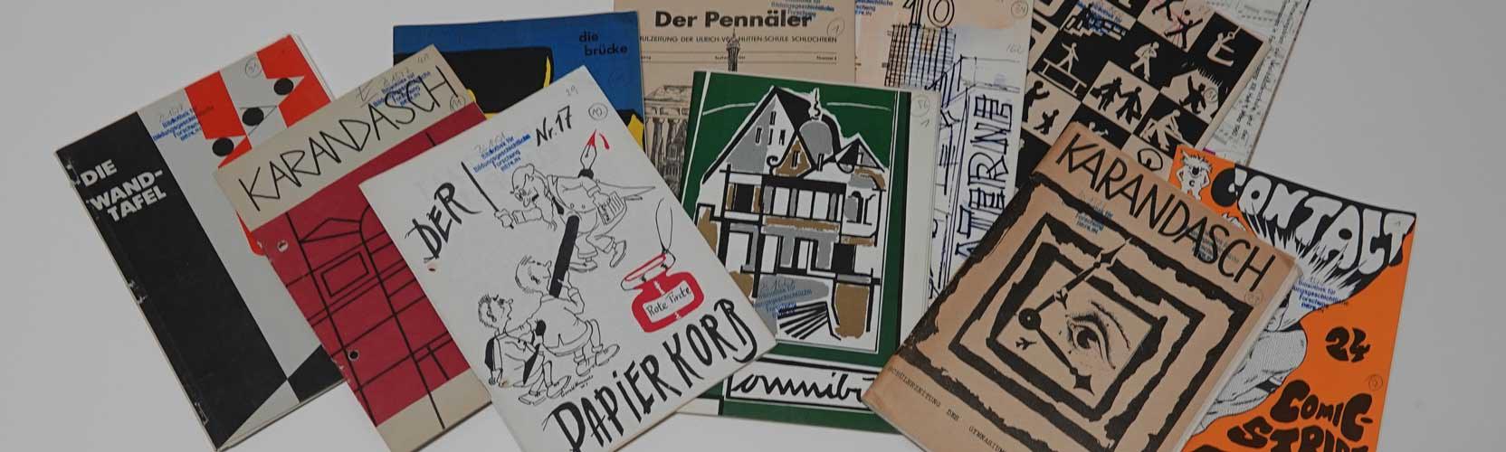 Cover von Schülerzeitungen