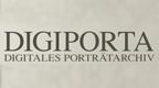 Logo der Datenbank DigiPortA (Digitale Portätbestände der Leibniz-Gemeinschaft)