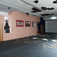 Considerable Damage at BBF after Burglary