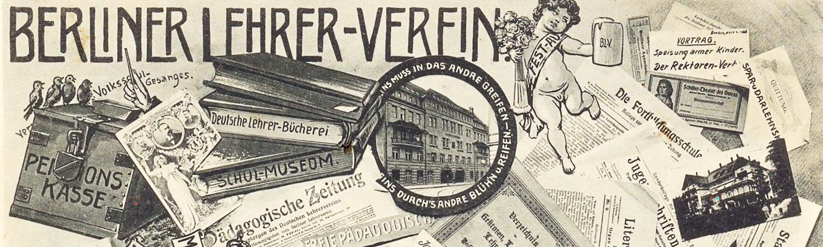 Postcard of the Berlin Teacher Association