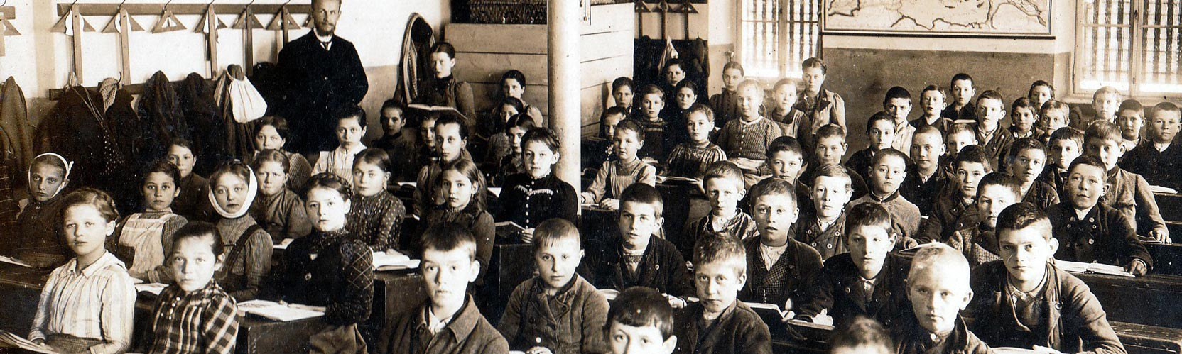 School classroom, Bavaria 1910